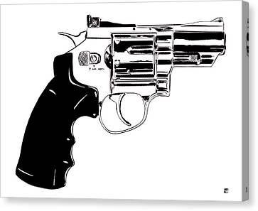 Icon Canvas Print - Gun Number 27 by Giuseppe Cristiano