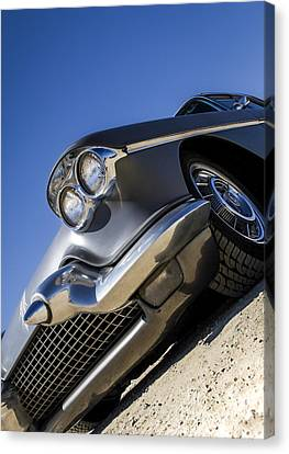 Gunn Metal - Metal And Speed Canvas Print by Holly Martin