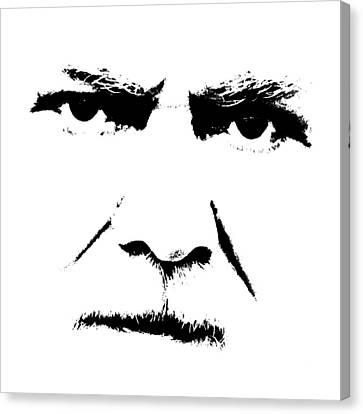 Gunnar Hansen Canvas Print by Tommytechno Sweden