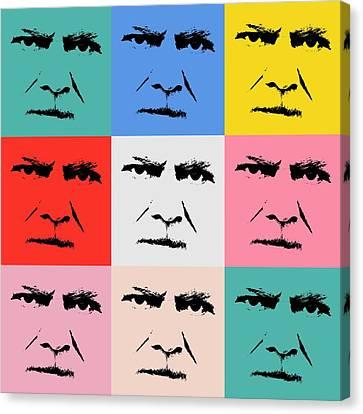 Workings Canvas Print - Gunnar Hansenpopart by Tommytechno Sweden