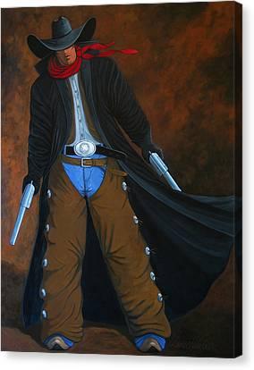 Gunner Canvas Print by Lance Headlee