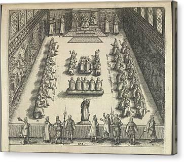 King James Canvas Print - Gunpowder Plot Trial by British Library
