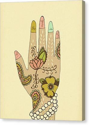 Guru Canvas Print by Lisa Barbero