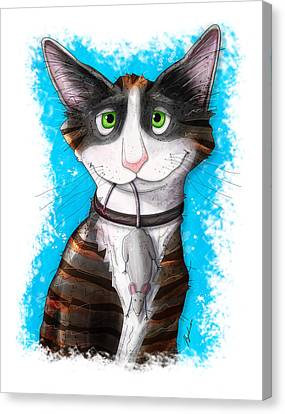 Gus Canvas Print by Gary Bodnar