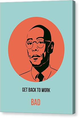 Gustavo Fring Poster 1 Canvas Print