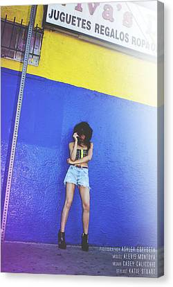Gusted Canvas Print
