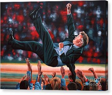 Guus Hiddink Canvas Print