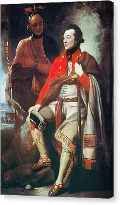Guy Johnson (c1740-1788) Canvas Print by Granger