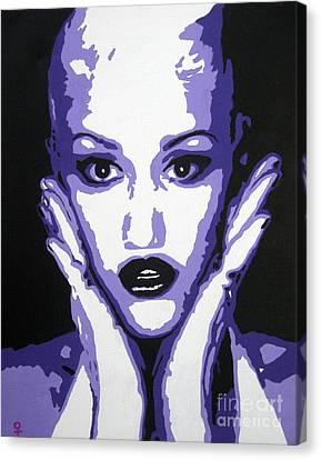 Gwen Stefani Canvas Print by Venus