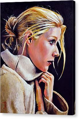 Gwyneth Canvas Print by Anthony Sell