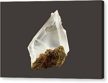 Gypsum Crystals Canvas Print