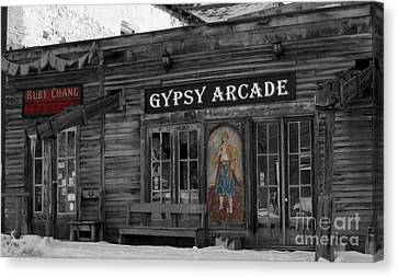 Gypsy Arcade Canvas Print