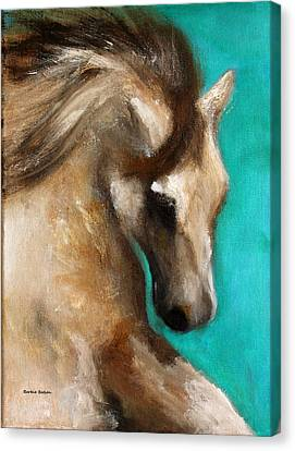 Canvas Print featuring the painting Gypsy by Barbie Batson