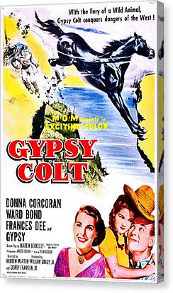 1950s Poster Art Canvas Print - Gypsy Colt, Us Poster Art, From Left by Everett