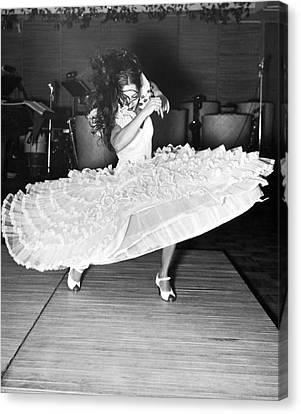 New Stage Canvas Print - Gypsy Dancer Carmen Amaya by Underwood Archives