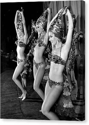 Gypsy Dancers Vintage Mesmerize Crowd Canvas Print by Retro Images Archive