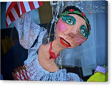 Gypsy Doll Canvas Print by Ricardo J Ruiz de Porras