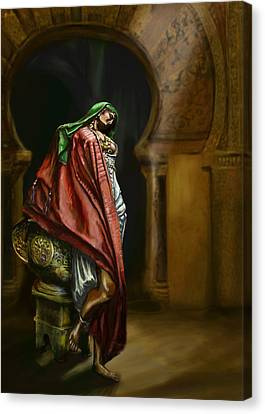 Syrian Princess Canvas Print by Matt Kedzierski