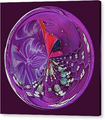 Gypsy Orb Canvas Print by Paulette Thomas