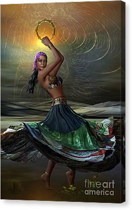 Gypsy Canvas Print by Shadowlea Is