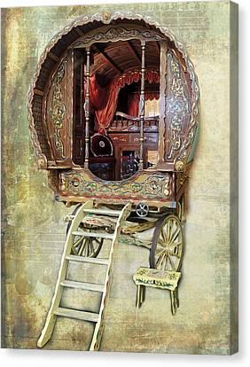 Gypsy Wagon Canvas Print
