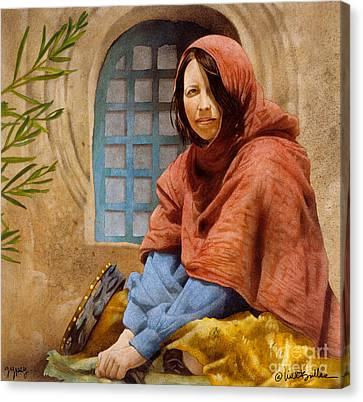 Gypsy... Canvas Print by Will Bullas