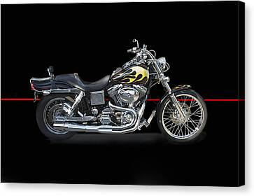 H D Dyna Twin Studio Canvas Print by Dave Koontz