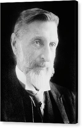 H. Rider Haggard Canvas Print by Library Of Congress