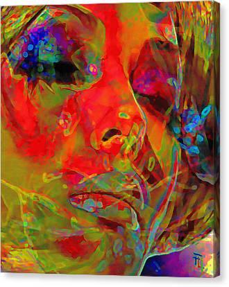 H3ad Sh0ts 5 Canvas Print by  Fli Art