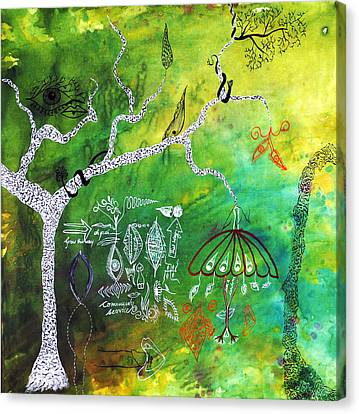 Trees Canvas Print - Habitat by Sumit Mehndiratta