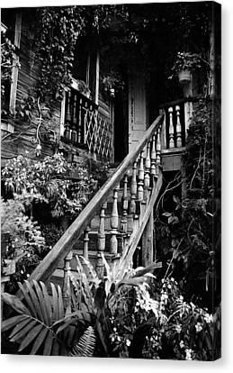 Hacienda Stairway Canvas Print by Ricardo J Ruiz de Porras