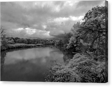 Hackensack River Canvas Print
