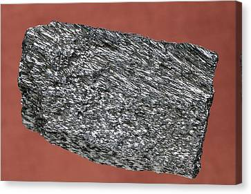 Haematite Canvas Print by Science Photo Library