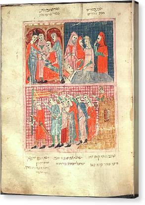 Haggadah Pesach Canvas Print