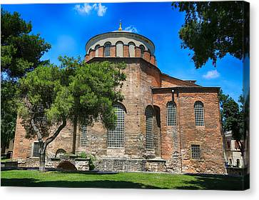 Hagia Irene - Istanbul Canvas Print by Stephen Stookey