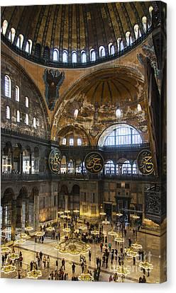 Hagia Sofia Interior 30 Canvas Print