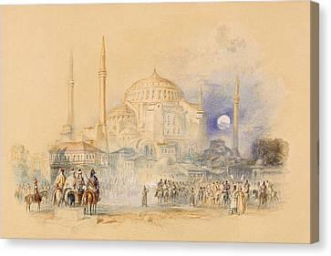 Hagia Sofia Canvas Print by Joseph Mallord William Turner