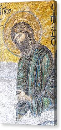 Greek Icon Canvas Print - Hagia Sofia Mosaic 12 by Antony McAulay