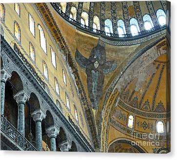 Canvas Print featuring the photograph Hagia Sophia 2 - Istanbul by Cheryl Del Toro