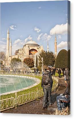Hagia Sophia Editorial Canvas Print