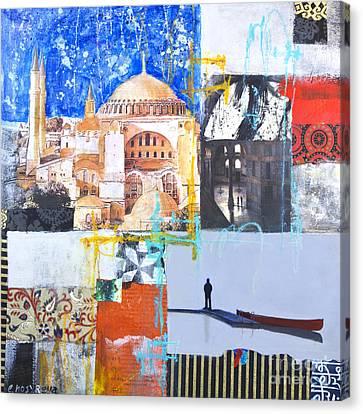 Hagia Sophia Istanbul Canvas Print by Elena Nosyreva