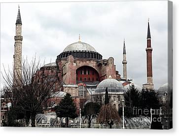 Hagia Sophia Canvas Print by John Rizzuto