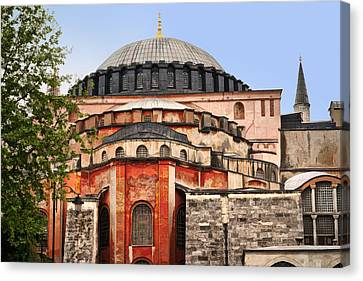 Hagia Sophia Canvas Print by Lutz Baar