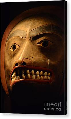 Tlingit Mask Canvas Print