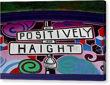 Haight-ashbury Art In San Francisco Canvas Print