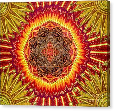 Hail To My African Sun Canvas Print