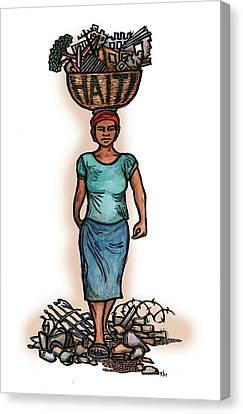 Haiti Canvas Print
