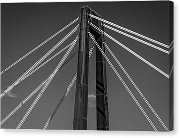 Hale Boggs Memorial Bridge Canvas Print by Andy Crawford