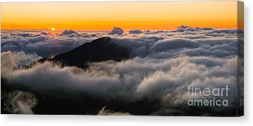 Haleakala  A006606-08-4a Canvas Print by Frank Wicker