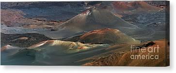 Haleakala  A012758-59-60-2b Canvas Print by Frank Wicker